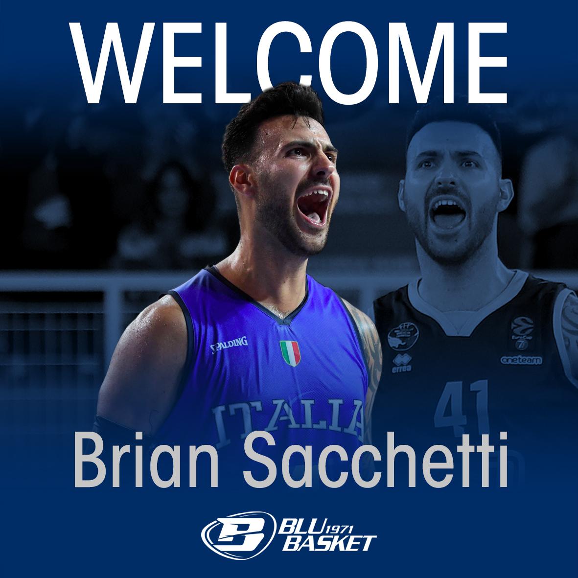 Colpo Blu Basket Treviglio, ufficiale la firma di Brian Sacchetti